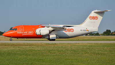 EC-GQO - British Aerospace BAe 146-200(QT) - TNT Airways (Pan Air Líneas Aéreas)