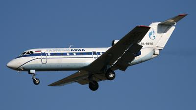 RA-88186 - Yakovlev Yak-40 - Gazpromavia