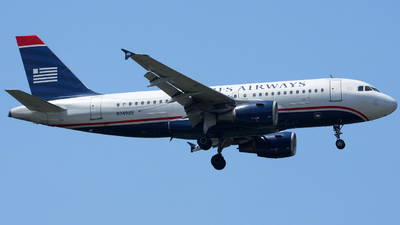 N749US - Airbus A319-112 - US Airways