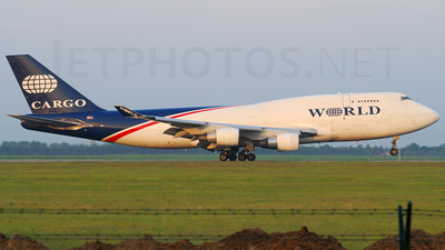 N741WA - Boeing 747-4H6(BDSF) - World Airways Cargo