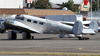 N6495D - Beech D18 - Hewitt Aviation