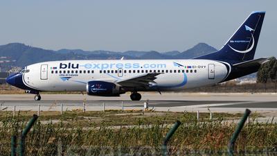 EI-DVY - Boeing 737-31S - Blu-express