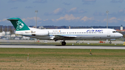 YR-FKA - Fokker 100 - Adria Airways (Carpatair)