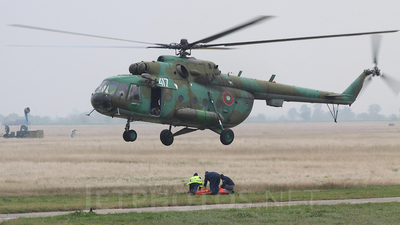 417 - Mil Mi-17 Hip - Bulgaria - Air Force