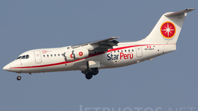 OB-1885-P - British Aerospace BAe 146-200 - Star Perú