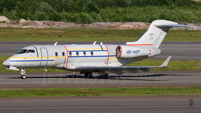 OE-HZP - Bombardier BD-100-1A10 Challenger 300 - Amira Air