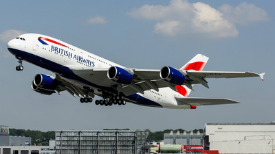 F-WWSK - Airbus A380-841 - British Airways