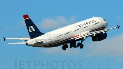 N632AW - Airbus A320-231 - US Airways