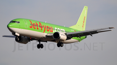 CN-RPH - Boeing 737-46J - Jet4You