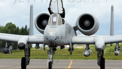 80-0230 - Fairchild A-10A Thunderbolt II - United States - US Air Force (USAF)