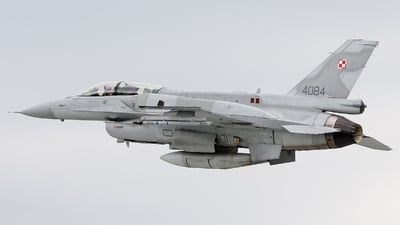 4084 - Lockheed Martin F-16D Fighting Falcon - Poland - Air Force