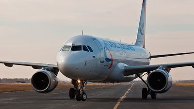 VQ-BDJ - Airbus A320-214 - Ural Airlines