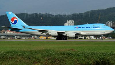 HL7467 - Boeing 747-4B5F(SCD) - Korean Air Cargo