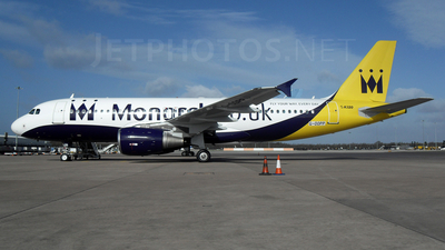 G-OOPP - Airbus A320-214 - Monarch Airlines