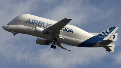 F-GSTA - Airbus A300B4-608ST Super Transporter - Airbus Transport International