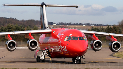 G-JEBG - British Aerospace BAe 146-300 - Flybe