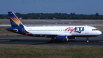 D-ACAF - Airbus A320-231 - flyFTI