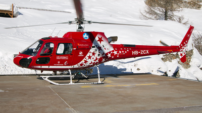HB-ZCX - Eurocopter AS 350B3 Ecureuil - Air Zermatt