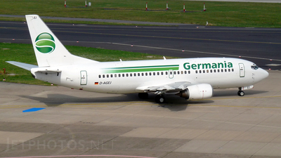 D-AGEJ - Boeing 737-3L9 - Germania