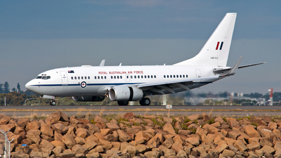 A36-002 - Boeing 737-7DF(BBJ) - Australia - Royal Australian Air Force (RAAF)