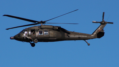 FAC4136 - Sikorsky S-70A-9 Blackhawk - Colombia - Air Force