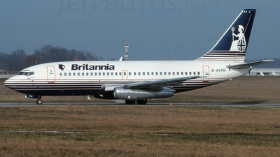 G-AVRN - Boeing 737-204 - Britannia Airways