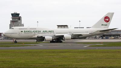 TF-AMY - Boeing 747-446 - Biman Bangladesh Airlines (Air Atlanta Icelandic)