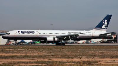 G-CDUO - Boeing 757-236 - Britannia Airways