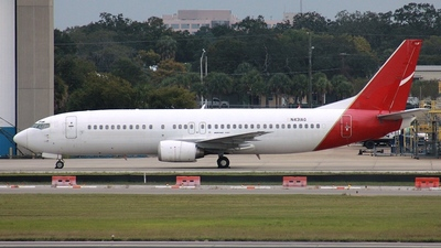 N431AG - Boeing 737-476 - Private