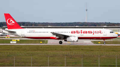 TC-ETF - Airbus A321-231 - AtlasJet