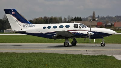 N738W - Cessna 414A Chancellor - Private