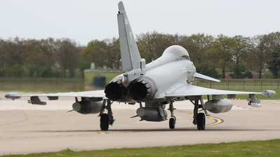 ZJ917 - Eurofighter Typhoon F.2 - United Kingdom - Royal Air Force (RAF)