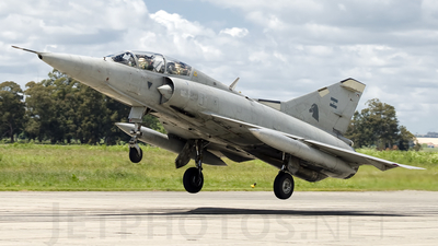 I-021 - Dassault Mirage 3DA - Argentina - Air Force