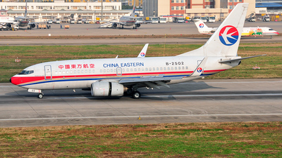 B-2503 - Boeing 737-7W0 - China Eastern Airlines