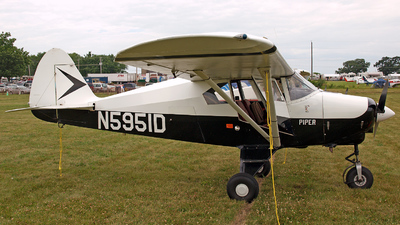 N5951D - Piper PA-22-150 Tri-Pacer - Private
