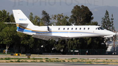 N681LF - Cessna 680 Citation Sovereign - Private