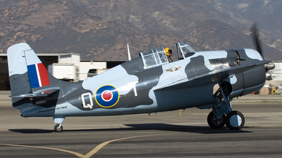 N5833 - Grumman FM-2 Wildcat - Private
