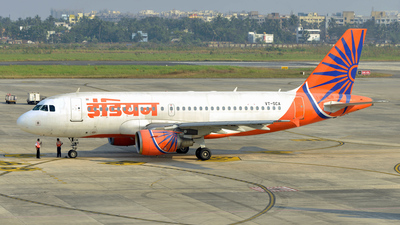 VT-SCA - Airbus A319-112 - Indian Airlines