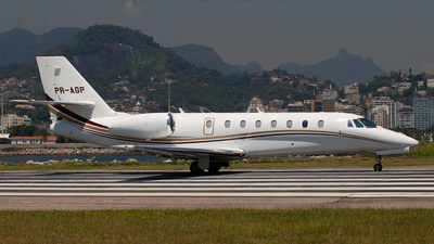 PR-AGP - Cessna 680 Citation Sovereign - Global Táxi Aéreo