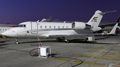 A picture of A6MBS - Bombardier Challenger 605 - [5728] - © Lutz Lehmann
