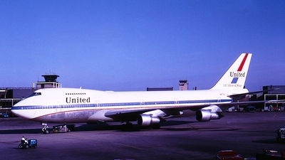 N4710U - Boeing 747-122 - United Airlines