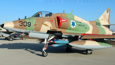309 - McDonnell Douglas A-4N Improved Ayit - Israel - Air Force