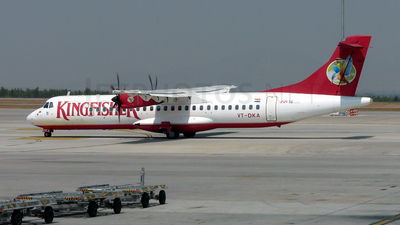 VT-DKA - ATR 72-212A(500) - Kingfisher Airlines