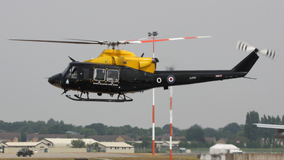 ZJ707 - Bell 412EP - United Kingdom - Defence Helicopter Flying School