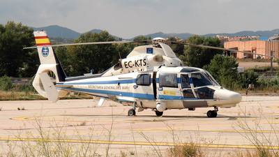 EC-KTS - Aérospatiale SA 365N3 Dauphin 2 - Spain - Ministry of Agriculture