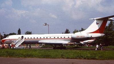 OK-BYS - Tupolev Tu-134A - Czechoslovakia - Government Flying Service