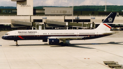 G-BIKS - Boeing 757-236 - British Airways