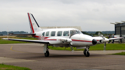 A picture of SEITA - Piper PA31 Navajo - Lunds Universitet - © Karsten Bley