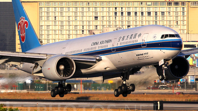 B-2055 - Boeing 777-21B(ER) - China Southern Airlines