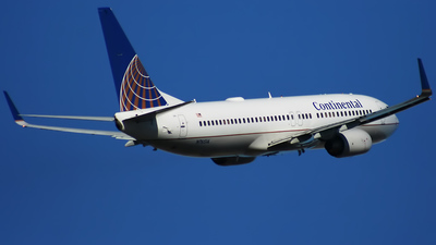 N76514 - Boeing 737-824 - Continental Airlines